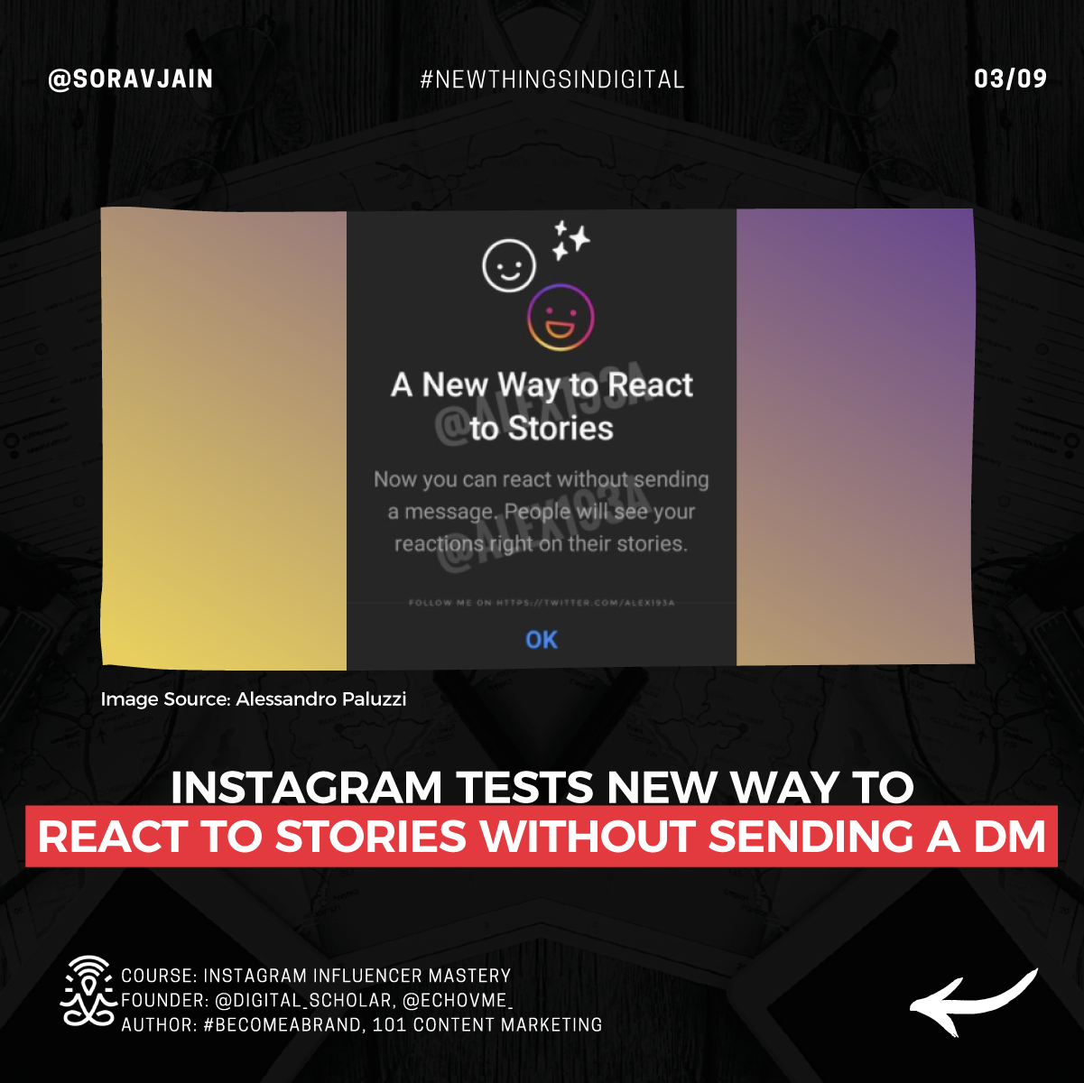 Instagram tests a new way to react to Stories without sending a DM