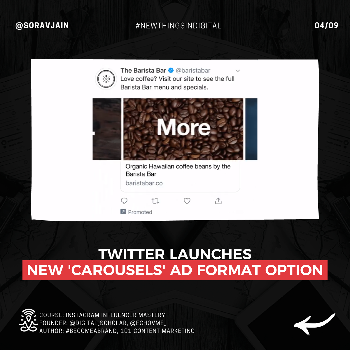 Twitter launched a new 'Carousels' ad format option