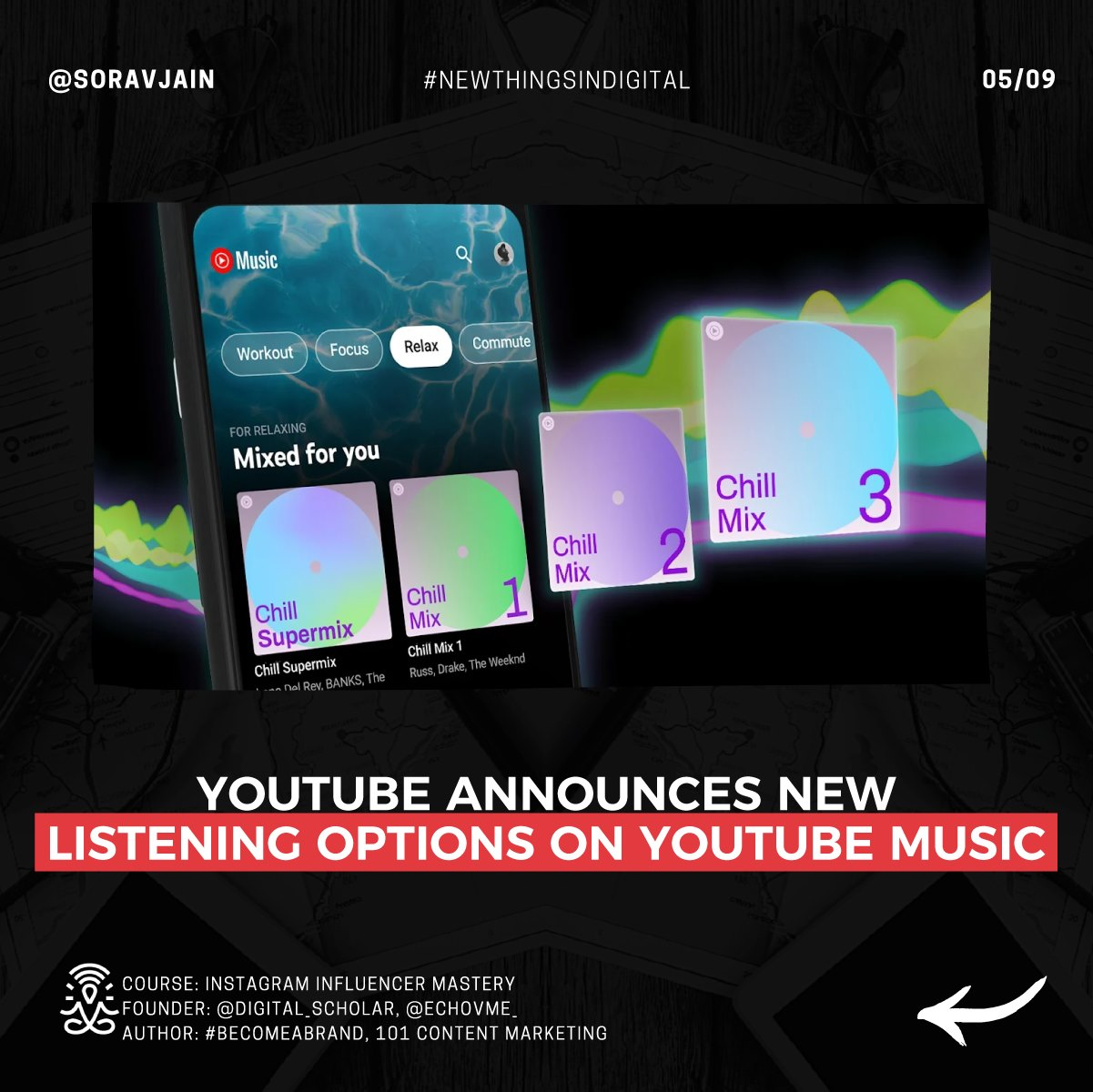 YouTube announces new listening options on YouTube music